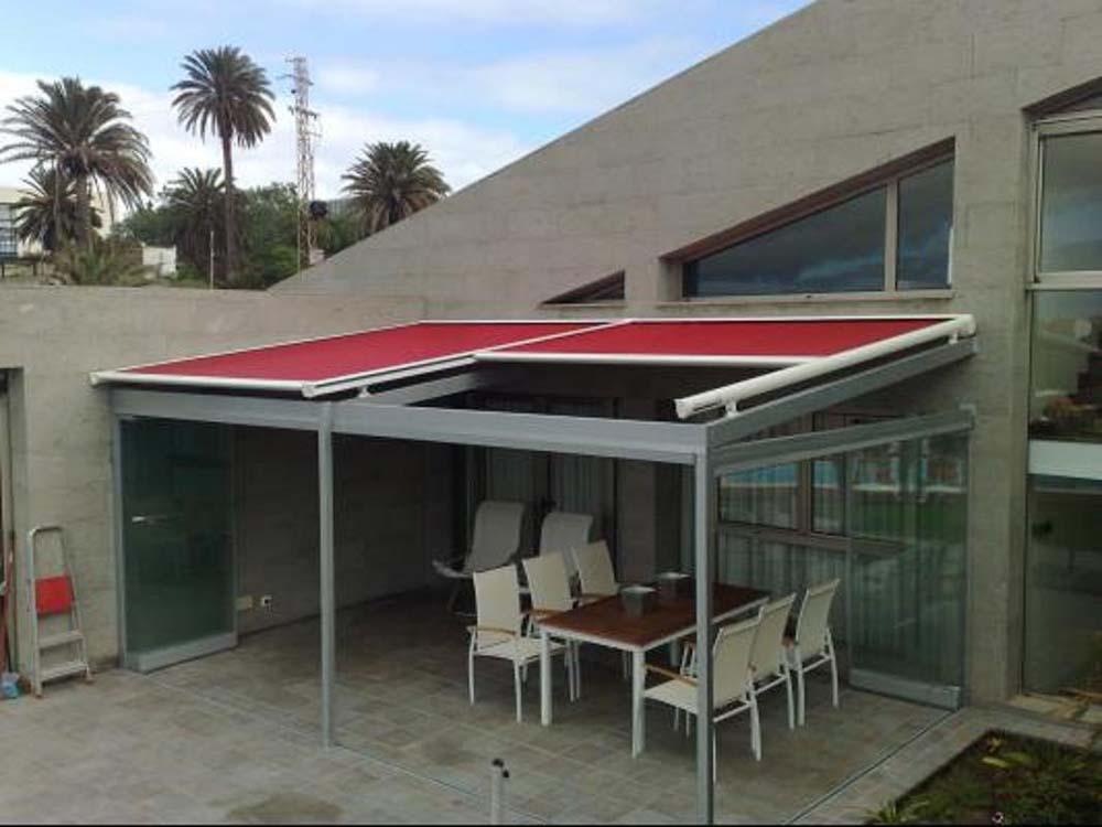 Toldos veranda productos de la empresa persianas for Toldos mecanismos para toldos